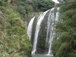 竜門滝 近景
