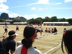 2011年姶良市立加治木中学校体育祭