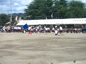 2011年姶良市立重富中学校体育祭