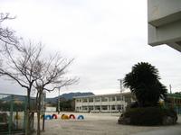 霧島市立富隈小学校校庭