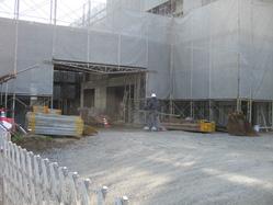 2010年3月11日サザンブルー鹿児島 建築現場