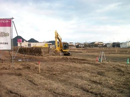 2015年12月16日現在のイオンタウン姶良建設現場