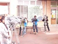 姶良市開庁式取材メディア