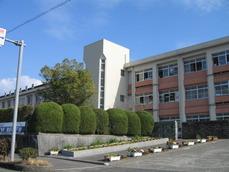姶良市立加治木中学校校舎