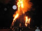 姶良町ジャンボ鬼火焚き