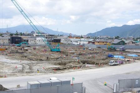2015年7月9日イオンタウン姶良建設現場
