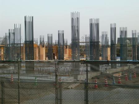 2014年1月17日クオラ病院姶良建設現場