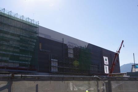 2015年12月18日イオンタウン姶良建設現場