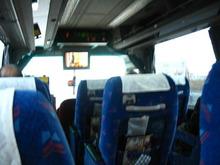高速バス 桜島号車内