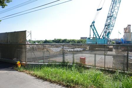 2013年10月22日クオラリハビリテーション姶良病院(仮称)工事現場
