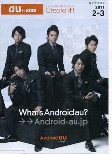 2011年(平成23年)auショップカタログ