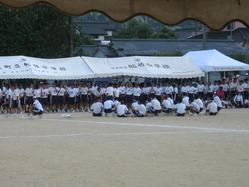 2010年姶良市立帖佐中学校体育祭