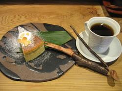 チーズスフレケーキ紅茶セット