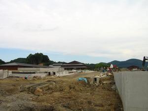 フォンタナの丘かもう建設現場