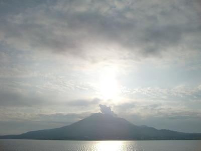 2012年1月1日桜島