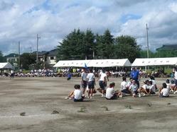 2010年姶良市立重富中学校体育祭