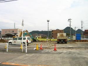 ファミリーマート姶良中央店建て替え工事