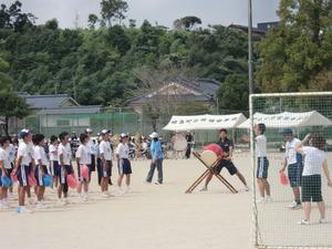 2011年帖佐中体育祭前日練習
