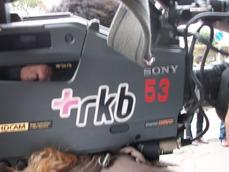 2011年姶良市故郷観光大使取材テレビ局