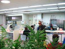 鹿児島銀行重富支店店内