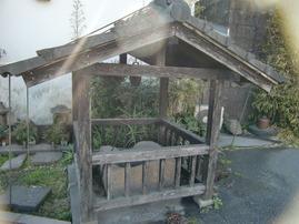 白金酒造古井戸