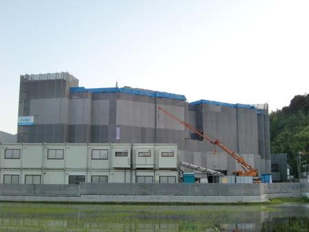 2014年6月23日クオラリハビリテーション姶良病院建設現場