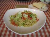 鹿児島県姶良郡姶良町 イタリアンレストラン シンパティコ ランチ キャベツとアンチョビのパスタhspace=5