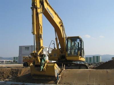 2012年10月18日ヤマエ久野・デリカフレンズ姶良食品加工工場工事現場