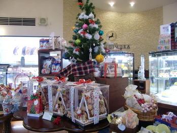 2011年ヤナギムラ姶良店店内クリスマスデコレーション