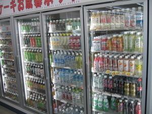 ファミリーマート姶良西餅田店飲料売り場