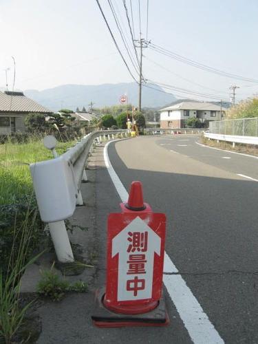 桜島スマートインターチェンジ(仮称)測量