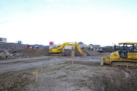 2015年2月8日イオンタウン姶良建設現場