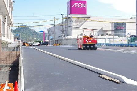 イオンタウン姶良周辺道路改修工事