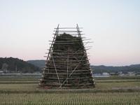2010年ジャンボ鬼火焚き櫓 1月3日正面