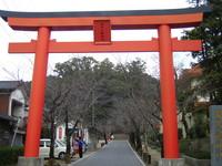 蒲生八幡神社鳥居