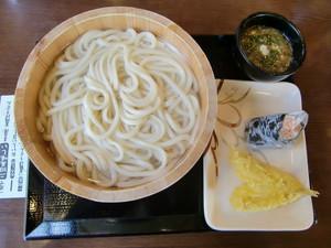 丸亀製麺加治木店 釜揚げうどん