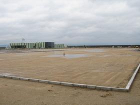 デリカフレンズ鹿児島工場建設現場