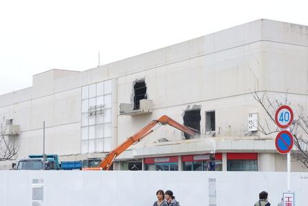 2016年3月10日イオン姶良解体作業