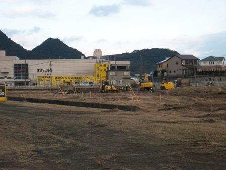 2015年1月15日イオンタウン姶良建設現場