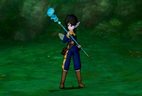 レア&魔法戦士&両手杖