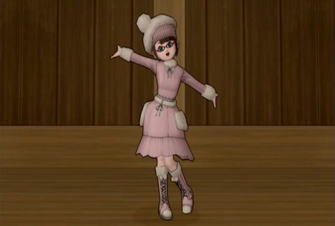 リポちゃんの貸衣装もこもこスカート編01