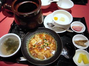 金香楼-豚バラ壷ランチ1