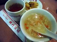 獅門酒楼8−スープ&ザーサイ