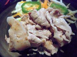 朱卯−麦とろ豚しゃぶ2