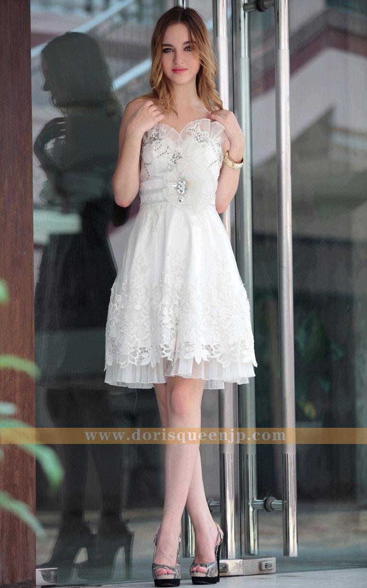 DORISQUEEN結婚式で残らなのはやっぱり花嫁二次会ドレス(一)