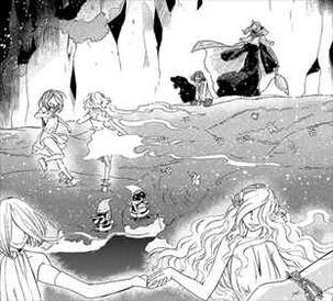 魔法使いの嫁4巻 幻想的な描写