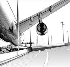 アイアムアヒーロー in OSAKA 飛行機ボーン
