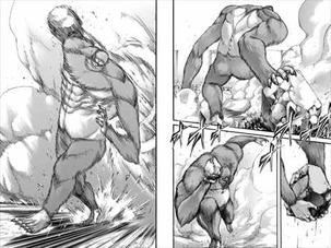進撃の巨人18巻 猿型巨人