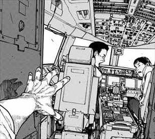 亜人4巻 佐藤の飛行機テロ1