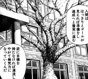 ドラゴン桜1巻 明確な目標設定
